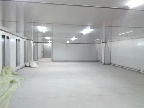 临沂市五谷状元饮料QS食品厂净化案例