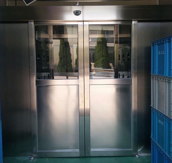 自动平移感应门货淋室