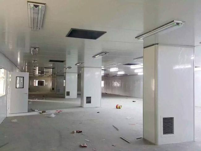 净化工程彩钢板隔墙多少钱一平方